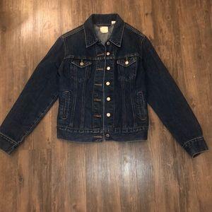 Levi's Red Tab Denim Jacket Size Large EUC